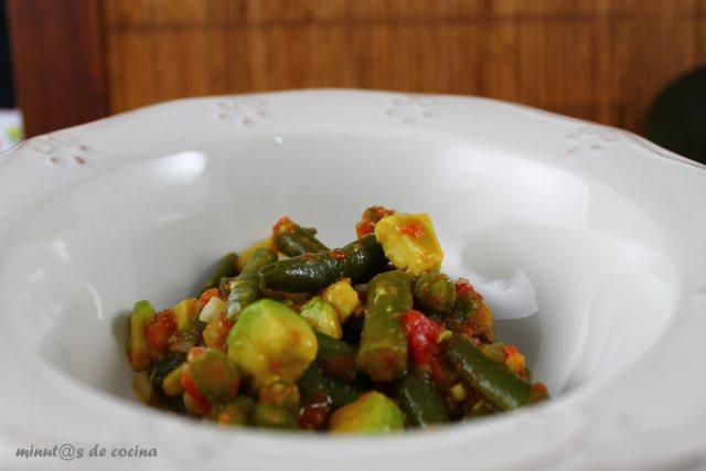 salpicón vegetal
