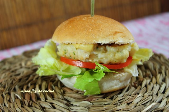hamburguesa de merluza