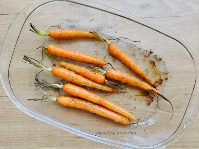 zanahorias al romero